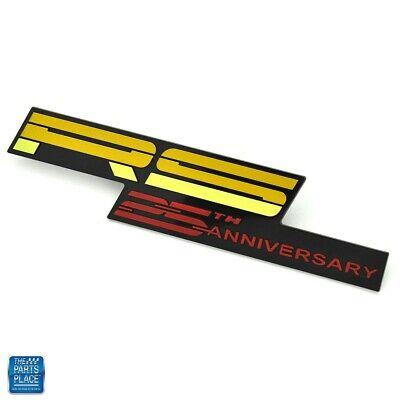 1992 Camaro RS 25th Anniversary Dash Emblem Yellow Red GM 10181725