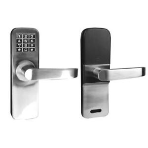 Used  Angel Digital Electronic Backlit Keypad Door Lock Condition: Used, with Backup Keys, Keyless Entry by Password ...
