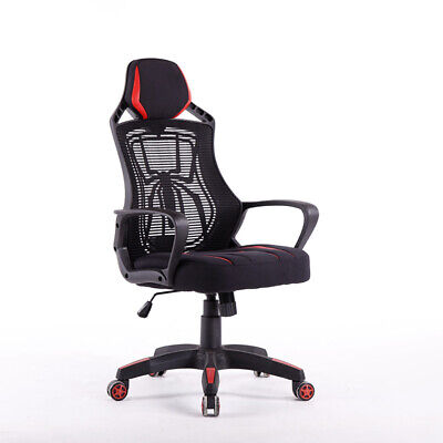 New Atraxx Office Desk Chair - High-back Mesh Task Chair - Adjustable Height