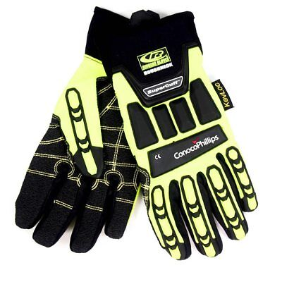 Ringers Roughneck Palm Cut Resistant Level 3 Gloves Size 9 Medium R-297-09
