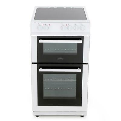 Belling FS50EDOFC White Electric Cooker with Double Oven 444443929