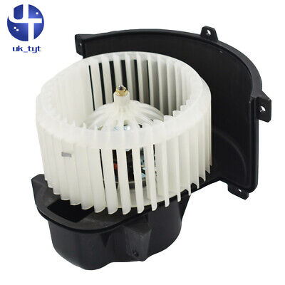 For Touareg Q7 Cayenne 7L0820021Q New A/C Heater Blower Motor w/ Fan Cage Front