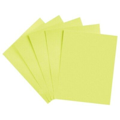 Staples Brights 24 Lb. Colored Paper Light Yellow 500ream 733094
