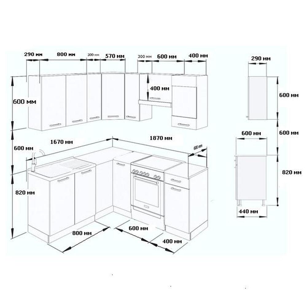 vicco k chenzeile l form k chenblock winkel eck einbauk che komplett edel grau eur 329 90. Black Bedroom Furniture Sets. Home Design Ideas