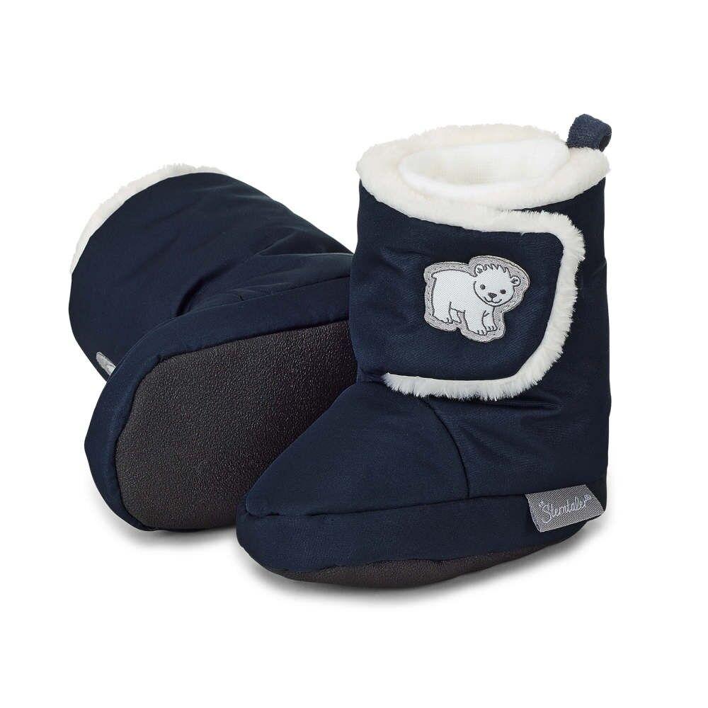 Sterntaler Baby Schuhe Winter Eisbär marine 5101803 Neu!