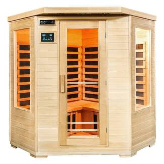 Sauna.4 Person Corner Carbon Fibre Far Infrared Indoor Detox Box Millaa Millaa Tablelands Preview