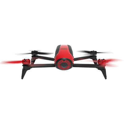 Parrot Bebop 2 (Red) Compact Full HD Video Drone - PF726000