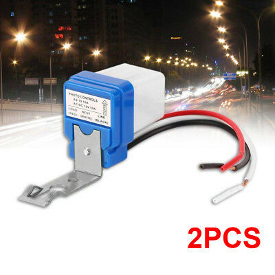 2x 12v 10a Car On Off Street Photocell Light Switch Photo Control Sensor Us Ship
