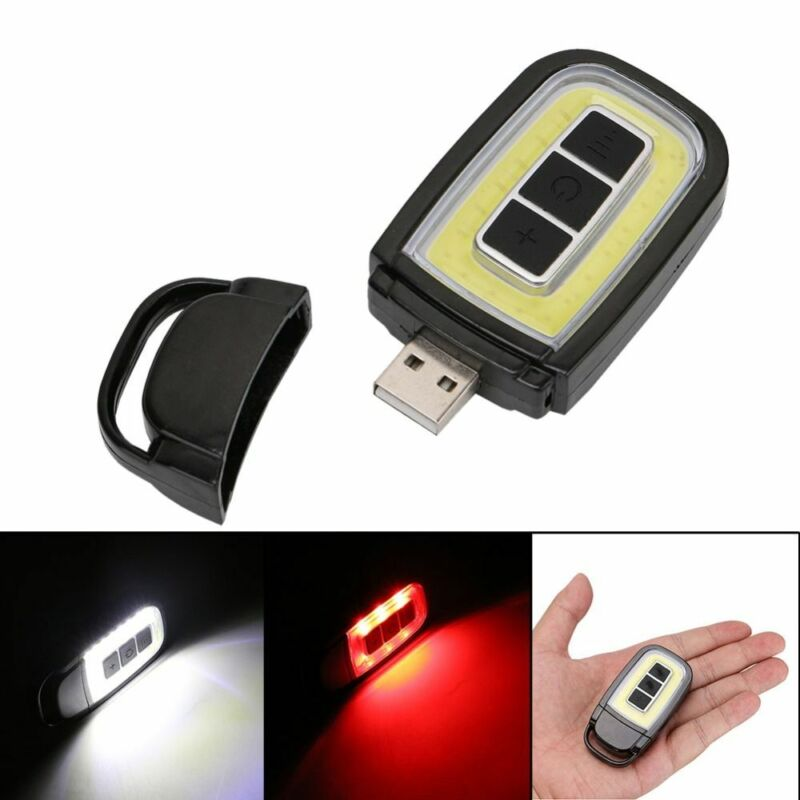 Travel Rechargeable USB Flashlights Torches Camping Lamp LED