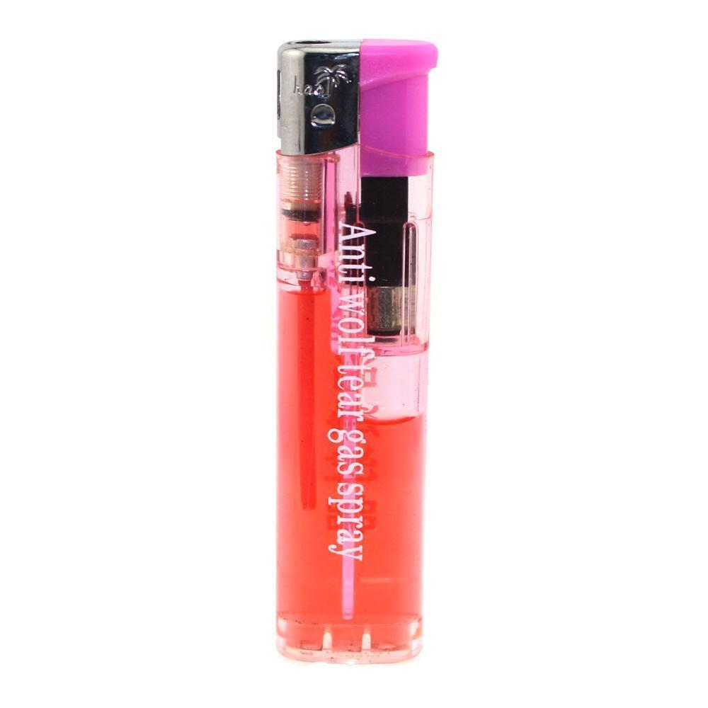 2pcs Pepper Spray Lighter Self Defense Weapon Mace Gas Pepper Spray
