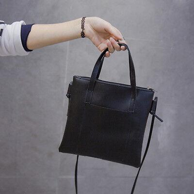Women Lady PU Leather Handbag Shoulder Bag Tote Purse Messenger Satchel Hobo mt