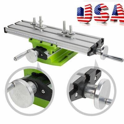 Usa Ship Milling Machine Cross Sliding Table Vise For Diy Lathe Bench Drill