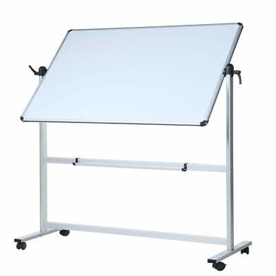 Viz-pro Double-sided Magnetic Mobile Whiteboard60 X 48 Inches With Stand