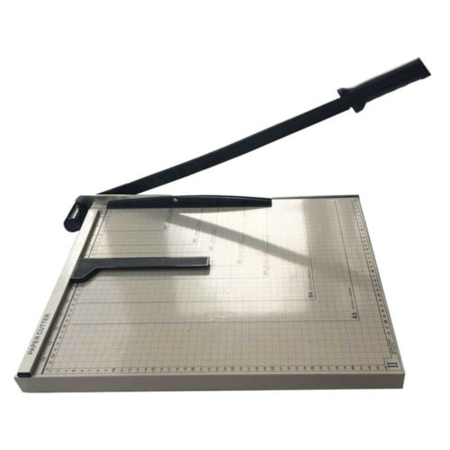 """Heavy Duty Guillotine Paper Cutter Precision 18"""" Trimmer Bas"""