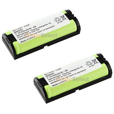 2 NEW Cordless Phone Battery for Panasonic HHR-P105 HHR-P105A TYPE 31 50+SOLD