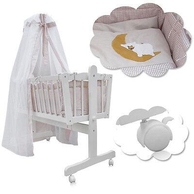Wiegen Möbel (Babywiege Babybett Kinderbett Schaukelwiege Stubenwagen Beistellbett Wiege)