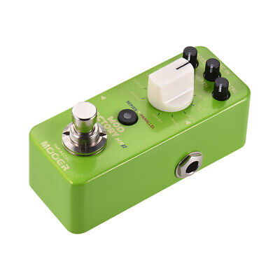 MOOER MOD FACTORY MKII Multi Modulation Effect Pedal 11 Effects Tap Tempo W3V2