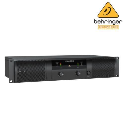 Behringer NX3000 Ultra-Lightweight 2-channel 3,000 Watt Power Amplifier NX 3000