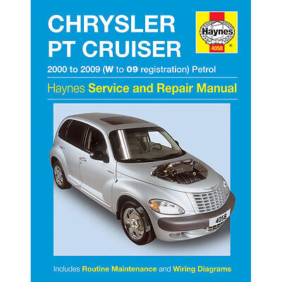 Chrysler PT Cruiser 2.0 2.4 Petrol 00-09 (W to 09 Reg) Haynes Workshop Manual