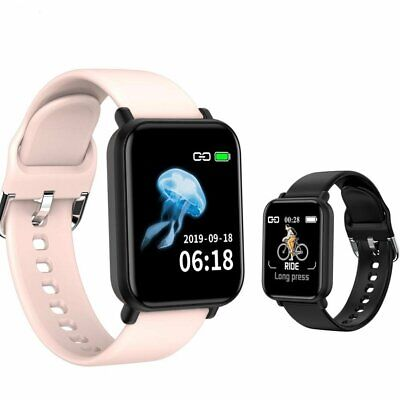 Waterproof Smart Watch Heart Rate Bracelet Women Men For iPhone Android Samsung