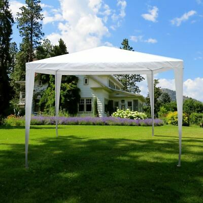 CLEARANCE Gazebo Party Tent Marquee 3x3m Pop Up Waterproof Outdoor Garden White