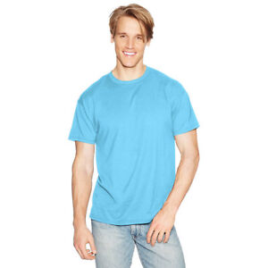 e20a34e1 2 Hanes Adult X-temp Unisex Performance T-shirts 4200 XL Blue Horizon.  About this product. Stock photo; Picture 1 of 1. Stock photo