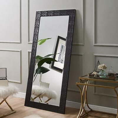 Naomi Home Mosaic Style Full Length Floor Mirror Black - $129.99