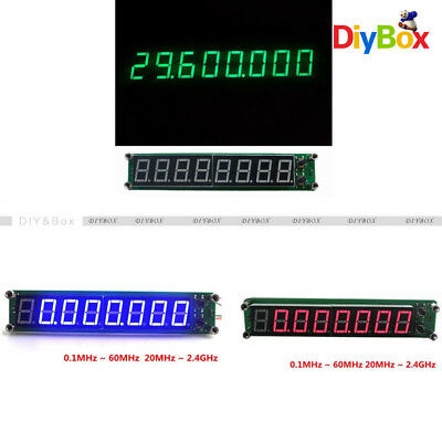 Rf Signal Frequency Counter 0.1-60mhz 20mhz2.4ghz Cymometer Tester Led Display