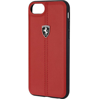 Ferrari Heritage Red iPhone 7/8 Leather Case