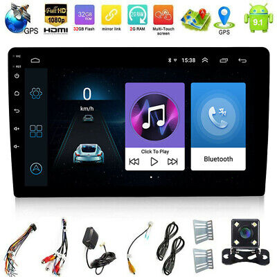 "Android 9.1 2Din 2+32G Car GPS Stereo Radio 10.1"" In Dash GPS Navi Wifi+Camera"