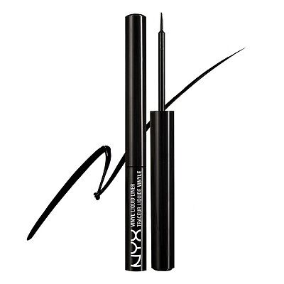 NYX Vinyl Liquid Liner color VLL01 Black New In Box Sealed