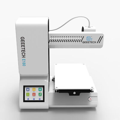 Geeetech 3D Printer E180 Upgraded Desktop Touchscreen Wi-Fi Connectivity