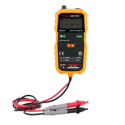 Auto Lcd Digital Multimeter Dcac Voltage Resistance Tester Ammeter Multitester
