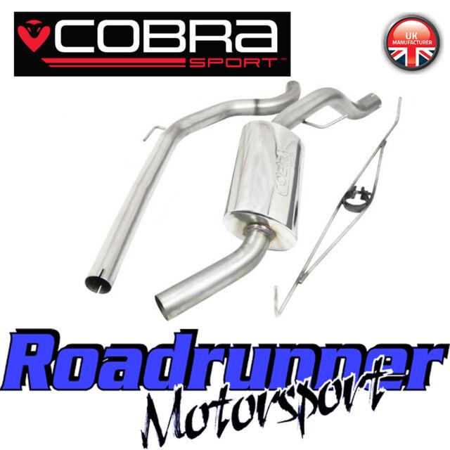 "Cobra Sport Corsa VXR Exhaust System 2.5"" Stainless Cat Back Non Resonated VX17"