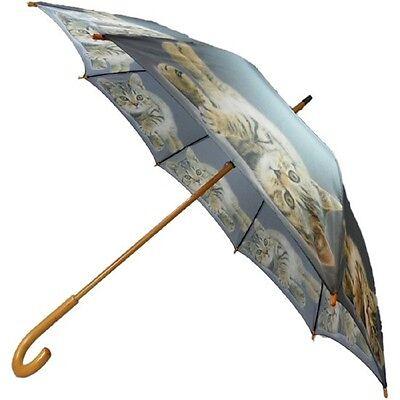 Mars & More Regenschirm Katze Tabby Liegend Stockschirm Schirm  Motiv BBPTL