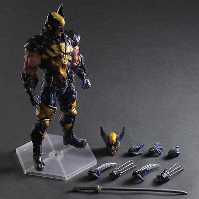 Square Enix Play Arts Kai Wolverine MARVEL Universo Variante Figura de Acción Logan