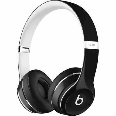 NEW BEATS BY DR DRE SOLO 2 LUXE EDITION ML9E2AM/A ON EAR BLA