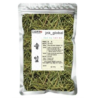 300g Natural Korean Pine Needle Dried Leaf Tea  Anti-aging + Free Track