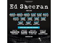 Ed Sheeran at Sold-Out Cardiff Principality Stadium TOMORROW - 2 or 4 tickets!