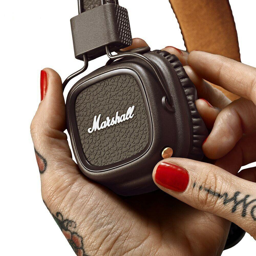 New Marshall Major 3 III Bluetooth Headphones Mic Headset De