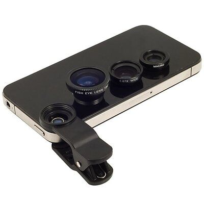 3in1 180 Fish eye+Wide Angle + Macro Camera Photo Zoom Lens iPhone 7 / 7 plus