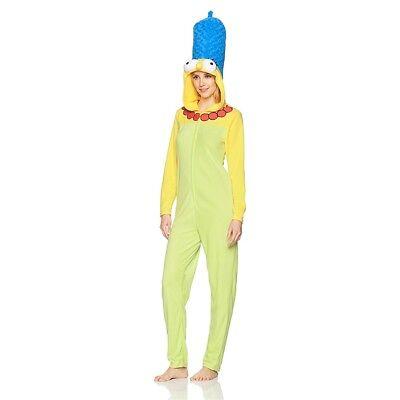 Marge Simpson Deluxe Simpsons Costume Sz M cartoon Fox -PJs~All fabric costume
