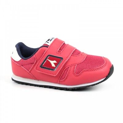 Diadora K Run Nyl 170370 - Red UK 3 EU 19 CH09 49