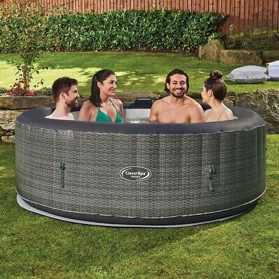 CLEVERSPA® MATARA INFLATABLE 6 PERSON HOT TUB