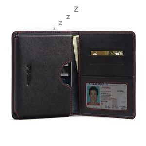 For BlackBerry Passport Silver Edition Pdair Leather Wallet Book Case Black, Red