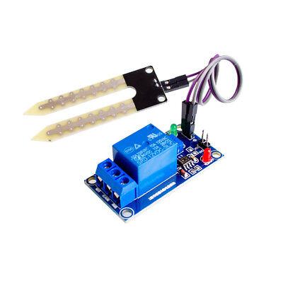 Dc 12v Automatic Water Soil Moisture Sensor Control Controller Relay Module