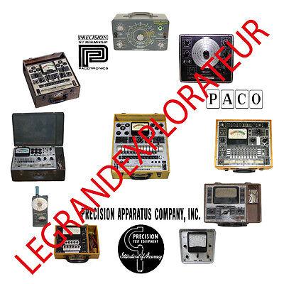 Ultimate Precision Apparatus Paco Operation Service Repair Manuals Manual S Dvd