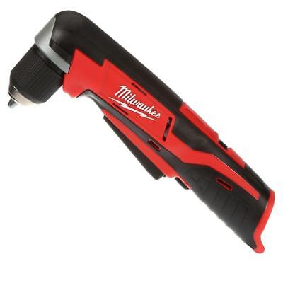 Milwaukee M12 2415 20 Lithium Ion 3 8 In Cordless Right Angle Drill Tool Only