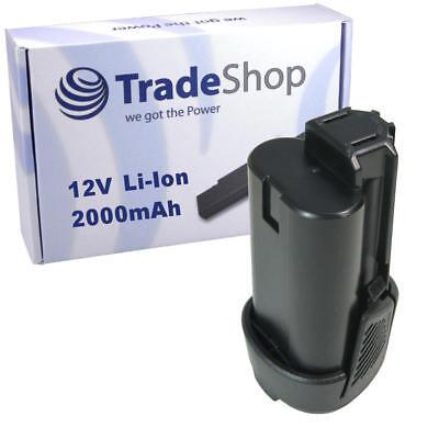 Hochleistungs AKKU 12V 2000mAh Li-Ion für Ryobi RCD1201 RCD12011L RCD12012L