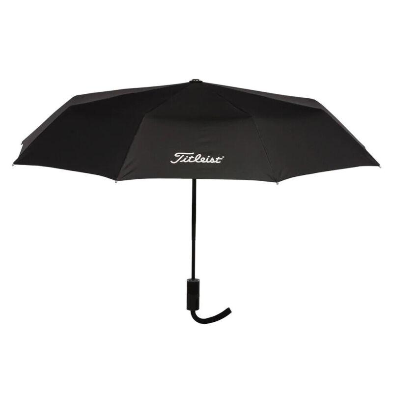 New Titleist Golf Professional Folding Umbrella - Black